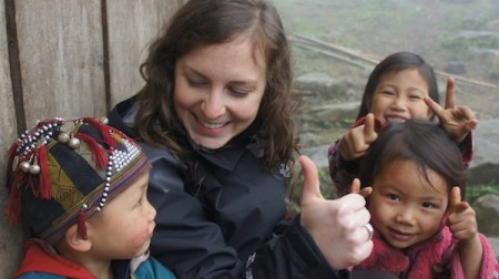 Experiential Travel Maureen Valentine Sapa Vietnam kids 450x252 What Is Experiential Travel? Here's What We Think