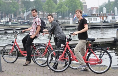 Experiential mishaps - lost in Amsterdam