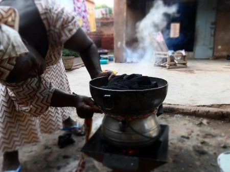 Cooking with Mammou through Kafuli in Burkina Faso