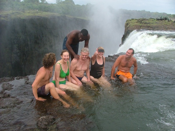 Livingstone zambia stunning to the senses the travel word for Devils swimming pool victoria falls