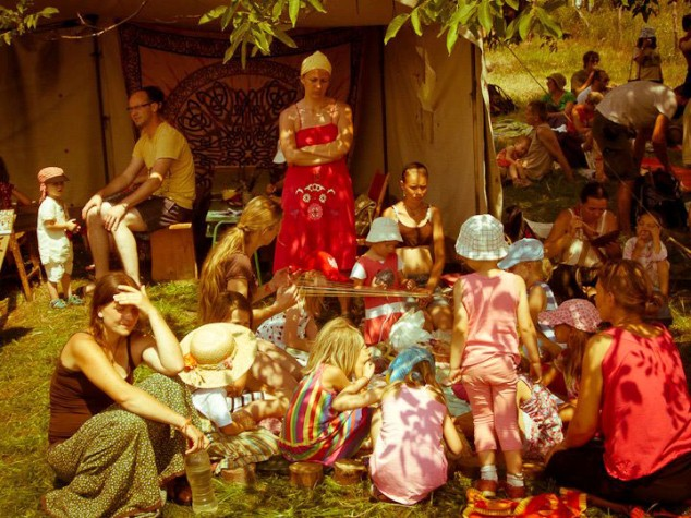 Photo of the Week (14 September 2012): Festival in the Meadows, Sekier, Slovakia