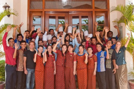 cambodia siem reap soria moria staff 450x299 Soria Moria Boutique Hotel Raises the Bar in Locally Driven Hospitality in Siem Reap, Cambodia