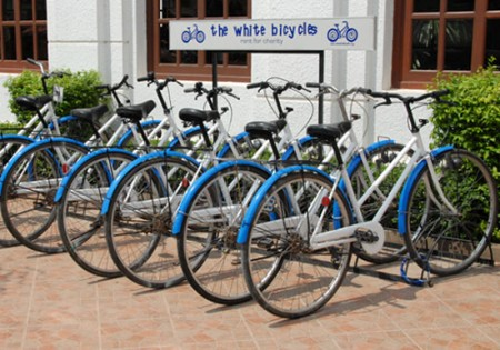 The White Bicycles, Siem Reap, Cambodia