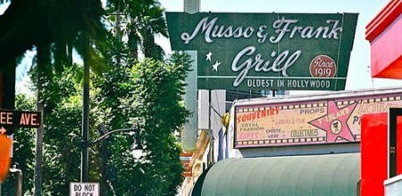 local supplier - Ruben Rueda, Musso and Frank Grill Hollywood California