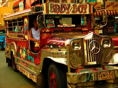 meeting locals - Rob Shortland - Jeepneys