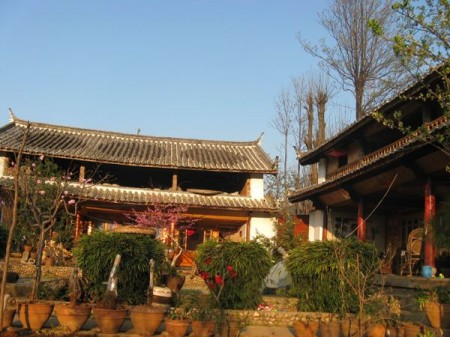 remote lodging- Naxi Homestay in NanYao Village near Lijiang, China