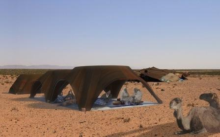 Mobile Tents in Morocco