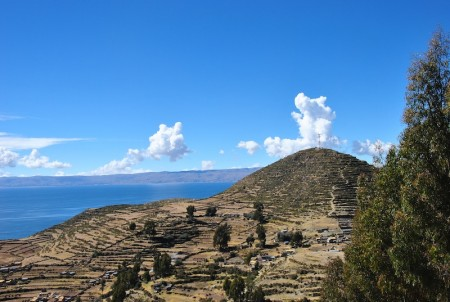 Sun Island and Lake Titicaca, Bolivia