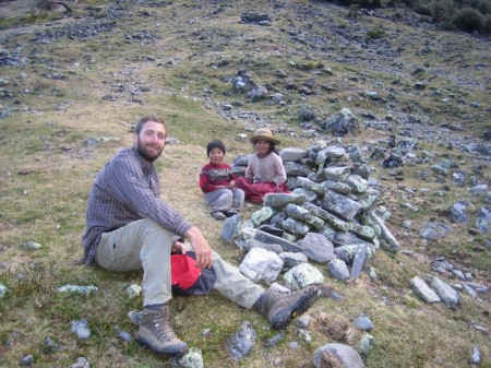SA Luxury Expeditions Reviews Responsible Travel in Peru - Nicholas Stanziano in Ollantaytambo, Peru