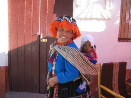 SA Luxury Expeditions Reviews Responsible Travel in Peru - Local woman in Pisac, Peru