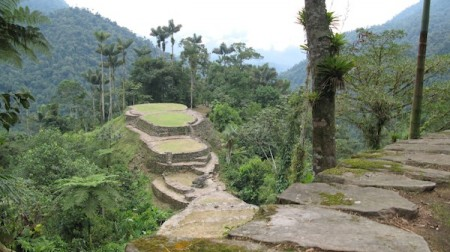 Lost City (Ciudad Perdida), Tayrona National Park, Sierra Nevada de Santa Marta, Colombia