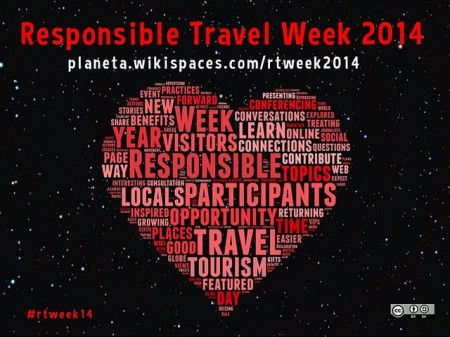 poster for Responsible Travel Week 2014