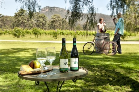 The Stomping Ground winery in Broke Fordwich, Hunter Valley, Australia
