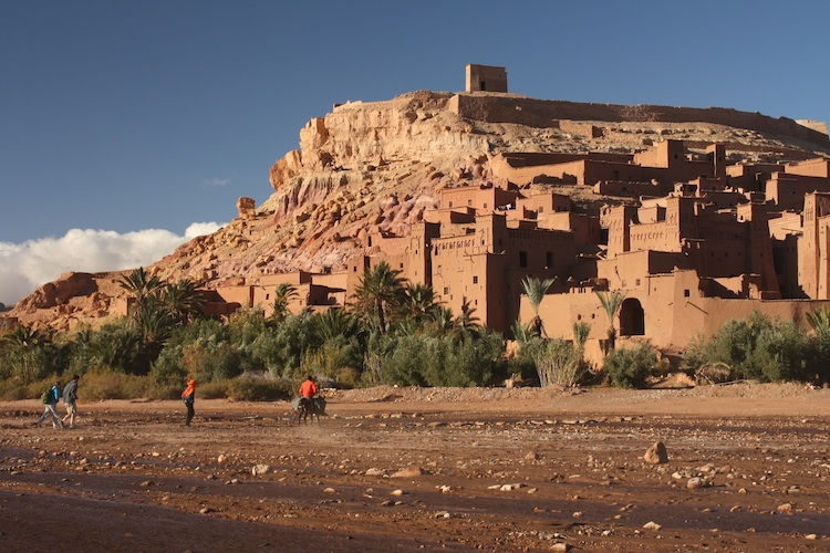 The 11th-century Ksar of Ait Ben Haddou, Morocco