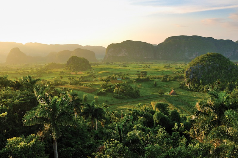 The Viñales Valley of Cuba is a World Heritage Site