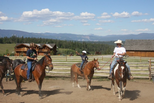 Family travel and dude ranches: riding is a memorable experience for everyone