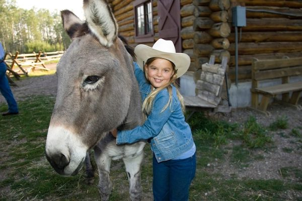 Family travel and dude ranches: a girl and her 'steed'