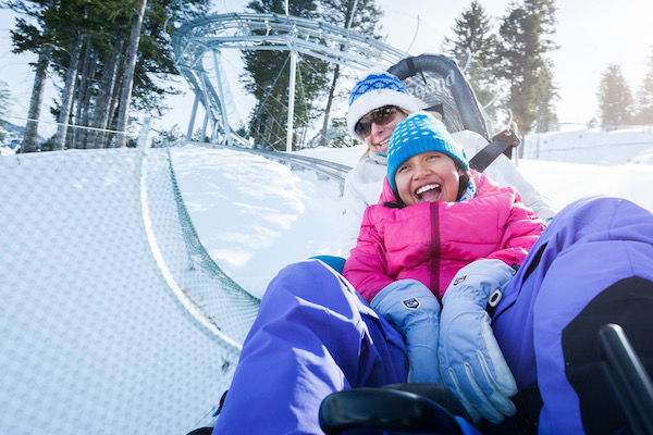 There are all types of snow fun for families