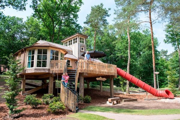 Camp cabins can be quite unusual and a whole lot of fun