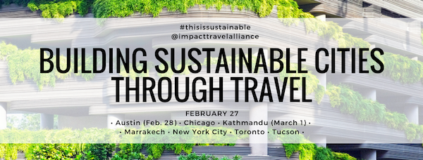 responsible travel events - Building Sustainable Cities Through Travel