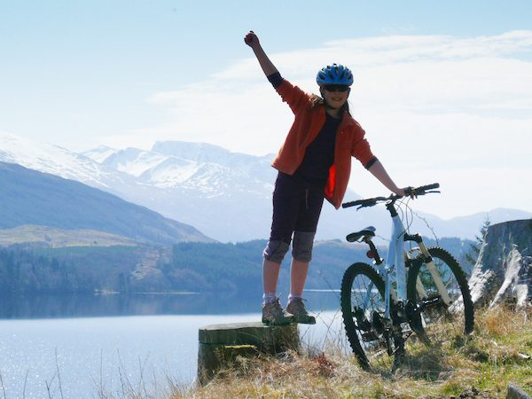 Out and about on two wheels in Scotland