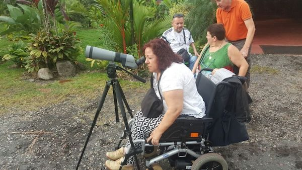Wheelchair travelers in Costa Rica