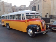 Classic bus from the 1950s, Malta