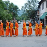 Read Morning Alms in Luang Prabang, Laos: Religious Tradition Turned into Tourist Spectacle