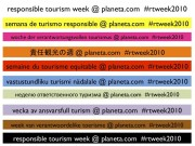Read Responsible Tourism Week 2010: May 17-21