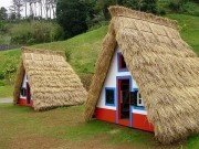 Read Photo of the Week: Traditional Palheiros Houses of Santana, Madeira, Portugal