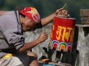 Read Photo of the Week: Making of the Prayer Wheel, Sikkim, India