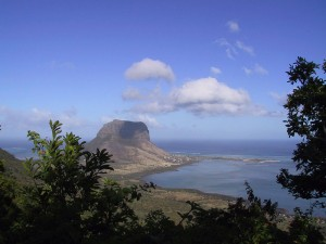 An unbeatable view from Chamarel