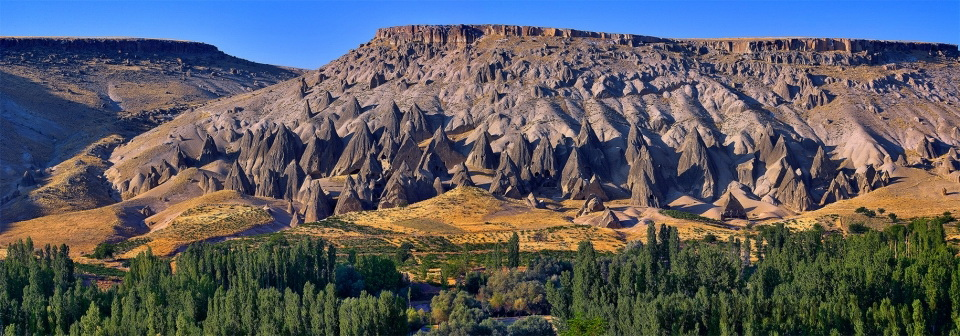 The Ihlara Canyon in Cappadocia is just one of many natural wonders in the area