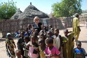 The children of Thioffior village are a fundamental part of its welcome