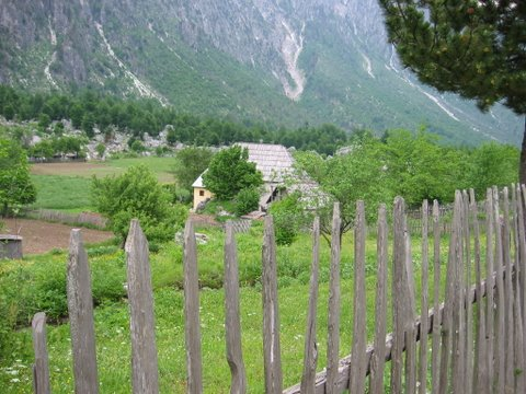 The Village House Salimaj, stunningly situated in Valbina valley