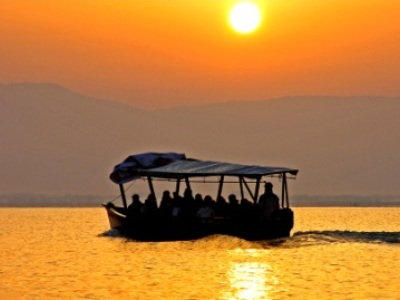 Don't miss a tour on Lake Kerkini in a traditional wooden boat