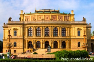 One of the most impressive Neo-Renaissance buildings in Prague, the Rudolfinum is also home to the Czech Philharmonic Orchestra