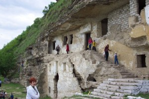 The 11th-century cave monasteries of Tipova are one of Moldova's top attractions