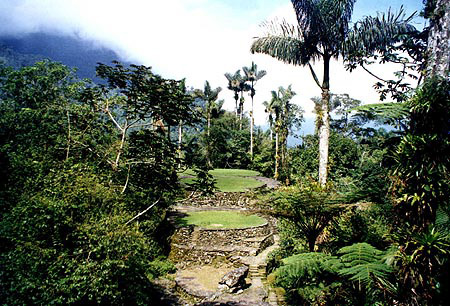 The mystical Lost City (Ciudad Perdida), hidden in the jungles of the Sierra Nevada, was home of the ancient Tayrona tribe and has become one of Santa Marta's main tourist attractions