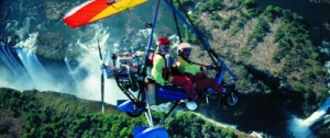 One of the most exciting ways to experience the falls - a tandem Microlight flight