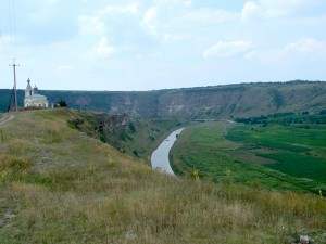 Moldova's Old Orhei is dominated by impressive limestone promontories chiselled into place by a sweeping S-curve of the Răut River