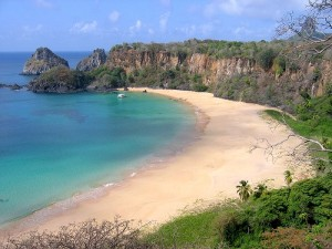 Sancho Bay, on Fernando de Noronha, Brazil, has what many consider to be one of the county's 10 best beaches