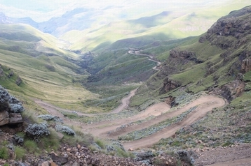 Until the mid '50s, Sani Pass was a mule trail descending from the Eastern Highlands of Basutholand (now Lesotho) into KwaZulu-Natal. The trade route provided the essentials for life in this remote country and products like wool and mohair were bartered for blankets, maize and other necessities.