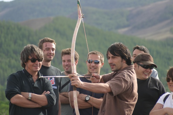 At a naadam (traditional festival) in Terelj National Park, Mongolia, travellers are invited to try their hand at archery and even compete with locals. Men shoot at targets 75 meters away and women from 65 meters, although, for visitors, distances can be set according to ability.