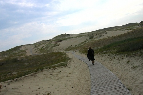 From the popular resort town of Nida, Lithuania, hikers can access some of Europe's tallest moving sand dunes – some reaching up to 60 metres in height – on the Curonian Spit, a UNESCO-ranked Heritage Site. Photo courtesy of Flickr.com/Lee Fenner