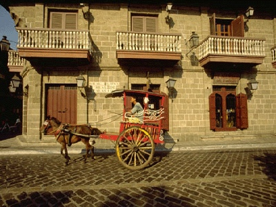 A tour of the Walled City of Intramuros is a step back in time in Manila. Guests can ride the traditional calesa (horse-drawn carriage) and see the old Spanish monuments still standing today.