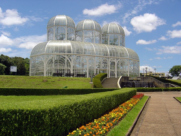 Photo of the Week (27 June 2010) - The Art Nouveau Curves of the Botanical Gardens, Curitaba, Brazil