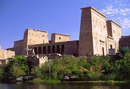 Dedicated to the ancient Egyptian goddess Isis, Philae Temple remains one of the most beautiful Greco-Roman Temples in all of Egypt