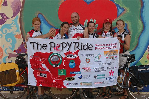 The PEPY Ride is PEPY Tours' signature cycling tour
