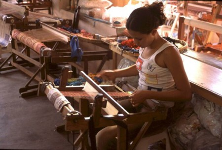 Quality handicrafts can be purchased from shops in the Historical Center or directly from local artists.